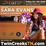 See Sara Evans at Twin Creeks Resort and Marina