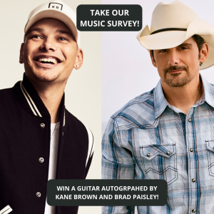 Pick The Music We Play on 103-3 Country!