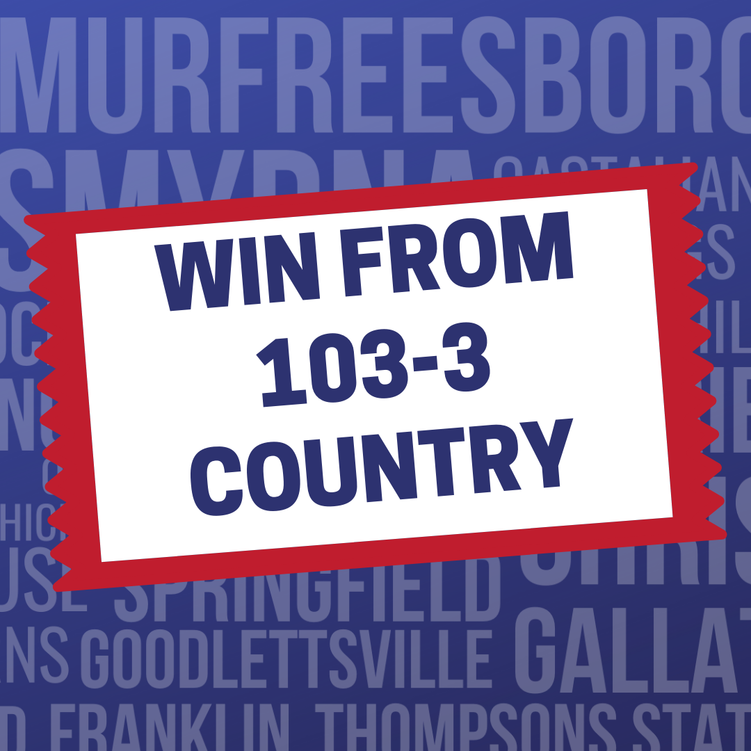 Win from 103-3 Country!