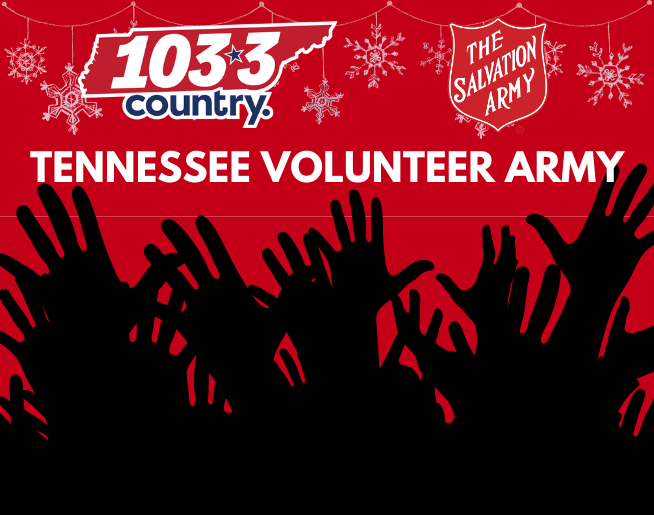 Tennessee Volunteer Army Supports  The Salvation Army's Forgotten Angels