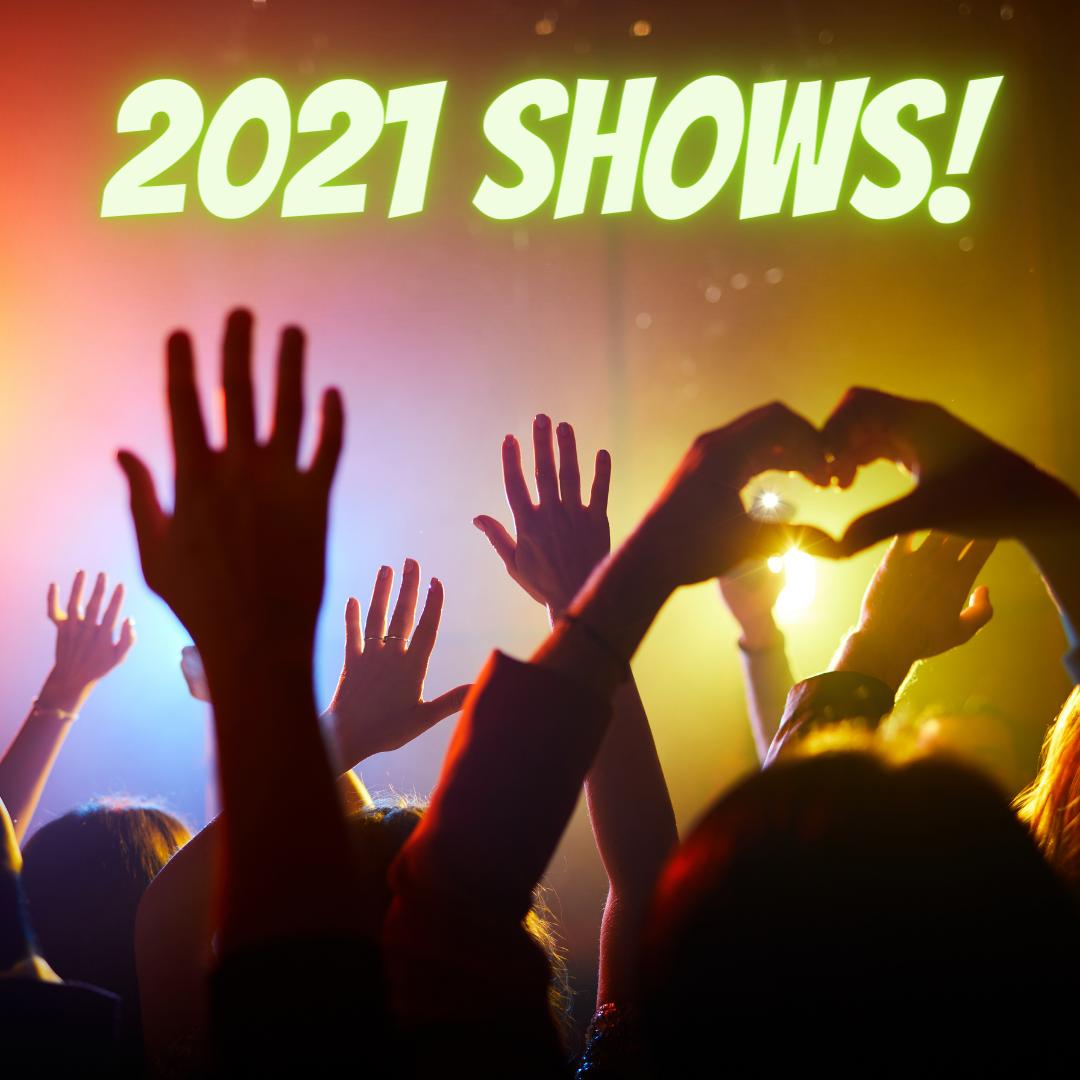 2021 Concert Calendar