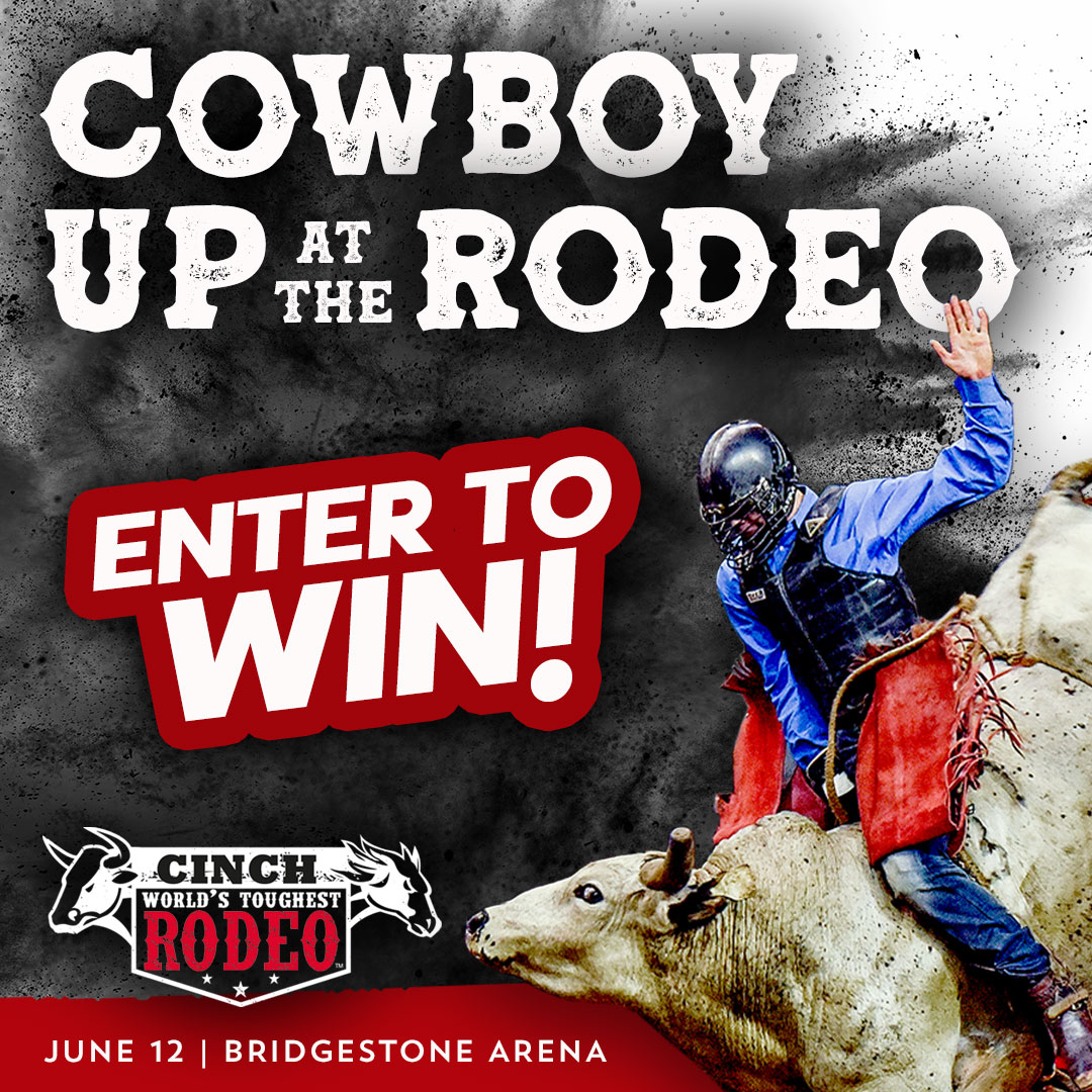 Win Tickets to the World's Toughest Rodeo!