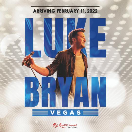 Luke Bryan in Vegas