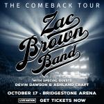 "Zac Brown Band ""The Comeback Tour"""