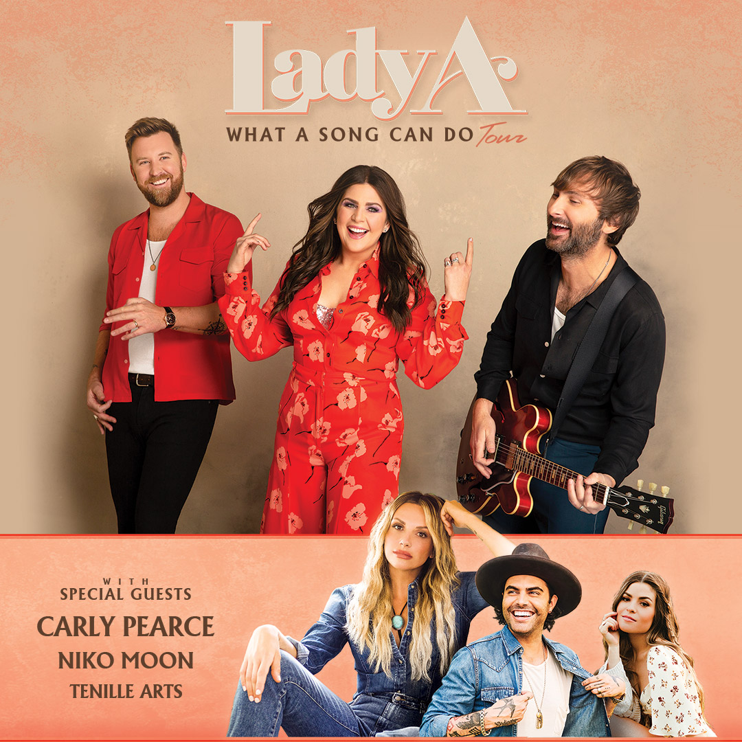 Just Announced: Lady A at FirstBank Amphitheater