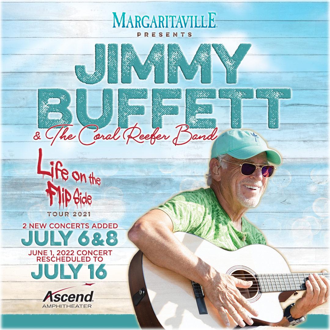 On Sale Now: Jimmy Buffett at Ascend Amphitheater