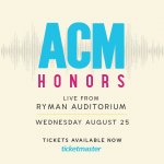 On Sale Now: ACM Honors at the Ryman