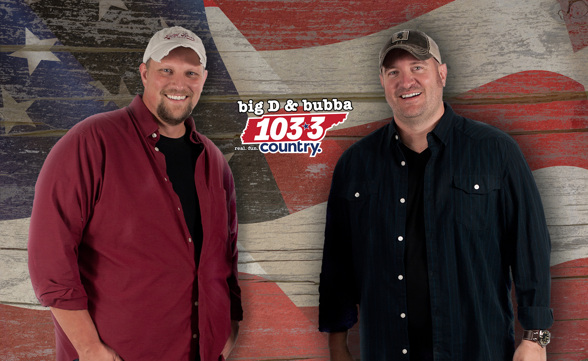 Welcome to 103-3 Country…   Big D & Bubba
