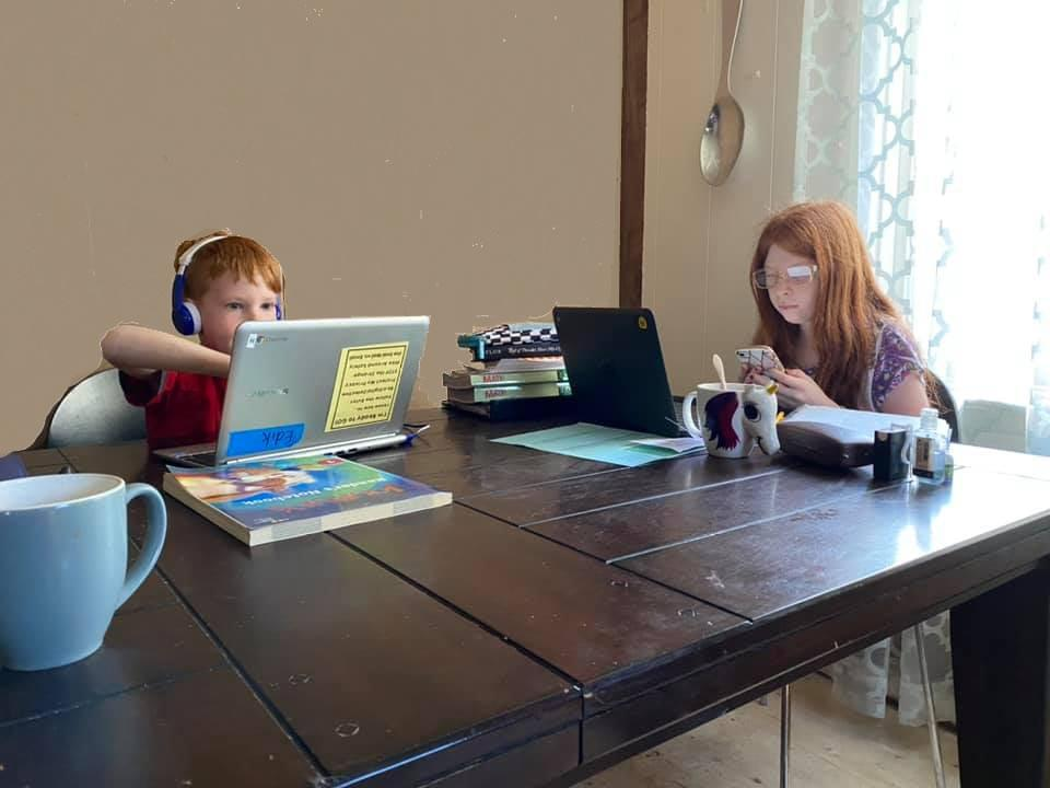 Working from home… with kids…