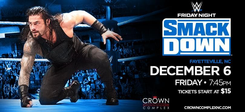 WWE Live @ The Crown