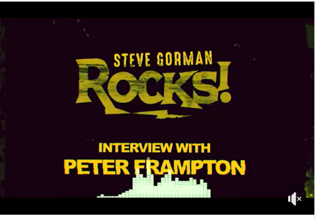 PRESS PLAY: Steve Gorman chats with Peter Frampton