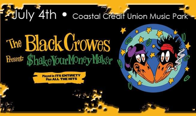 WIN: The Black Crowes Shake Your Money Maker 2020 World Tour