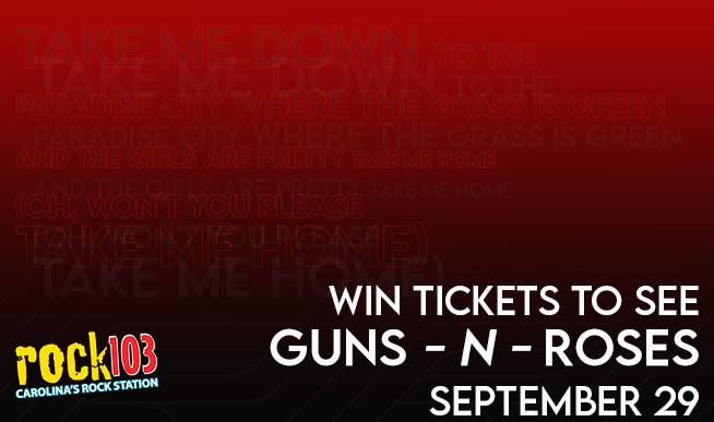 GNR. Raleigh. 9.29.21