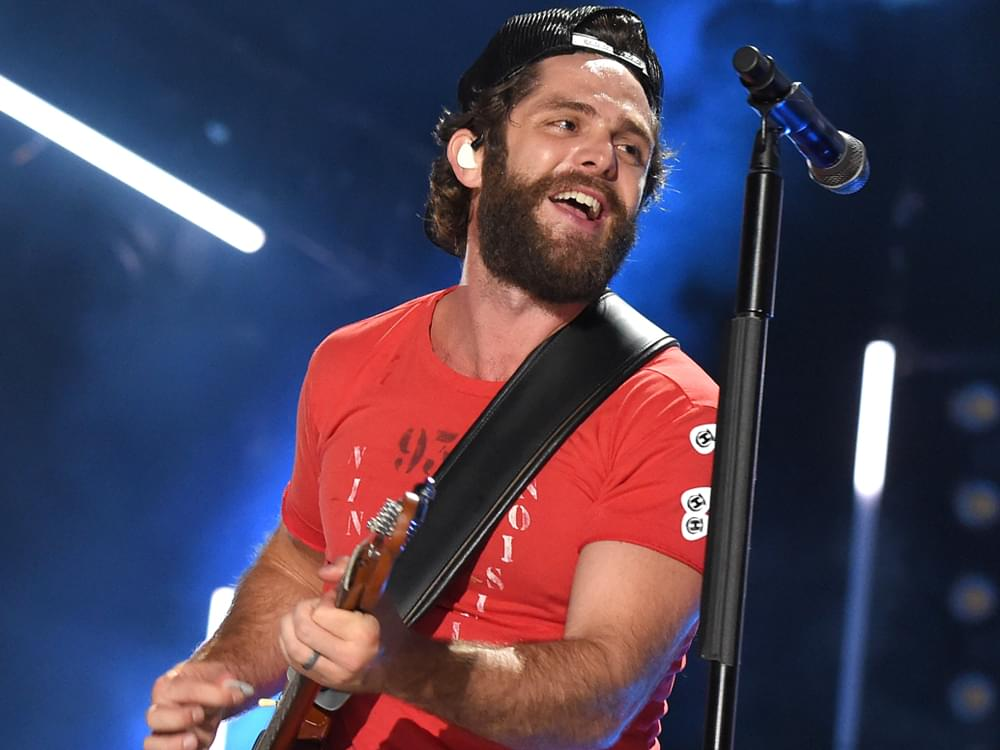 "Thomas Rhett Scores 14th No. 1 Single With ""Remember You Young"""