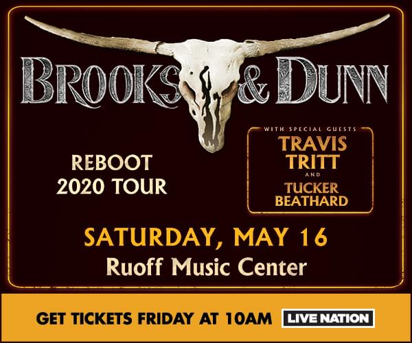 Brooks & Dunn Saturday, May 16th Ruoff Music Center