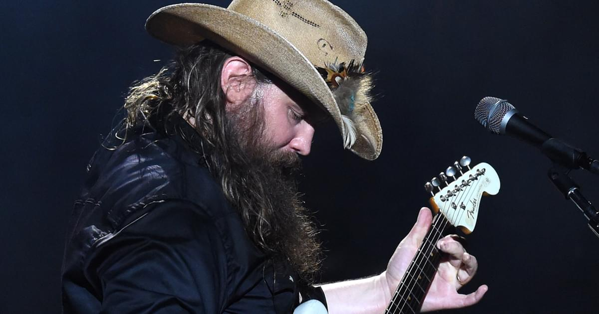"Watch Chris Stapleton's Stunning Performance of ""Starting Over"" at the CMA Awards"