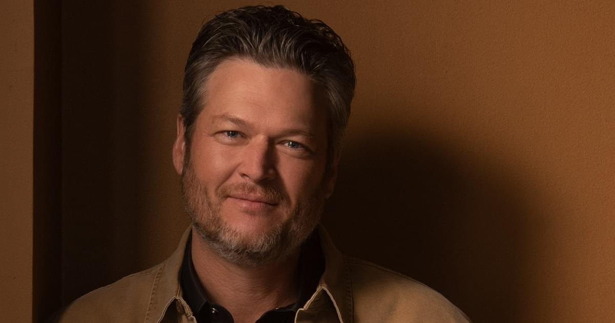 Blake Shelton Is Happy at Number-1