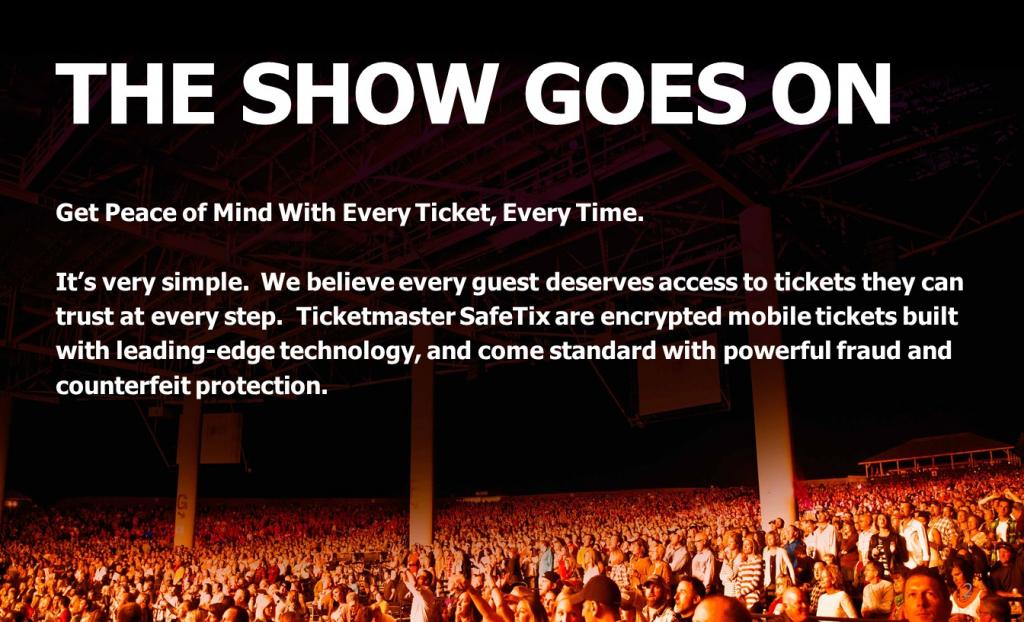 Live Nation Digital Ticketing