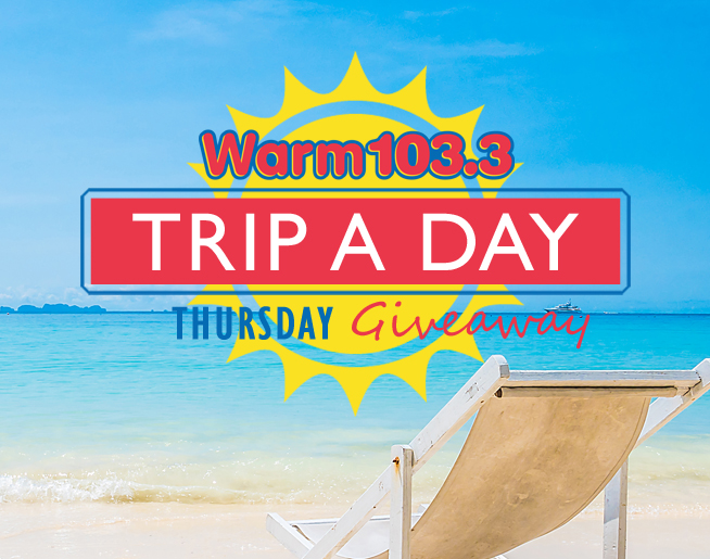 Win a Trip-A-Day to Wildwood This Thursday on WARM 103.3