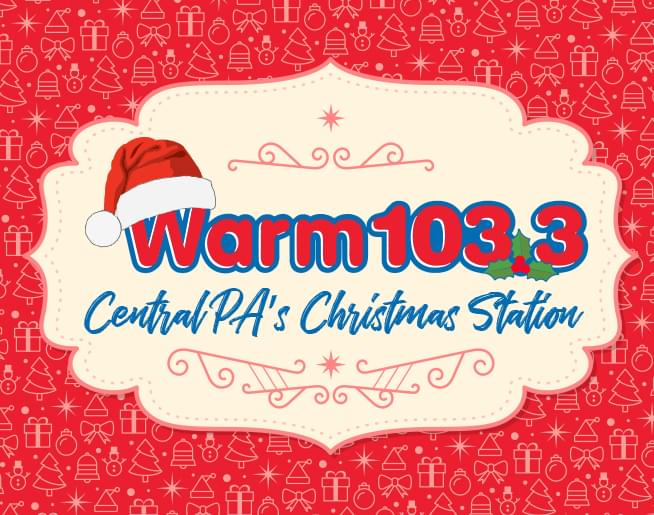 WARM 103.3 is Central PA's Christmas Station