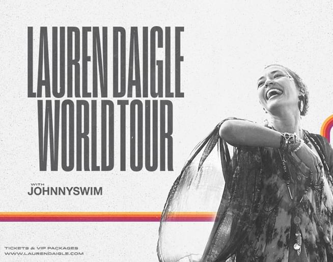 Lauren Daigle at the GIANT Center on July 10th
