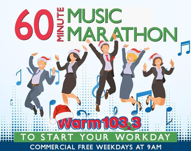 WARM XMAS music marathon FI