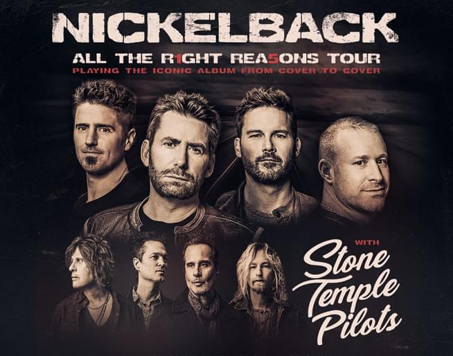 CANCELLED – Nickelback at Hersheypark Stadium