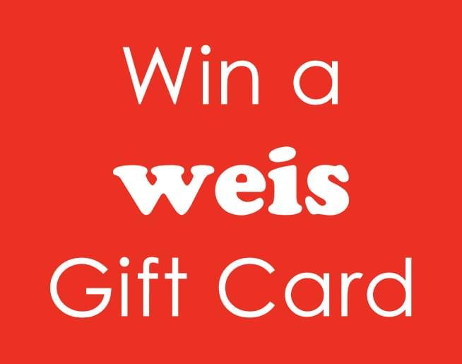 Win a $50 Weis Markets gift card from Liz & Chris