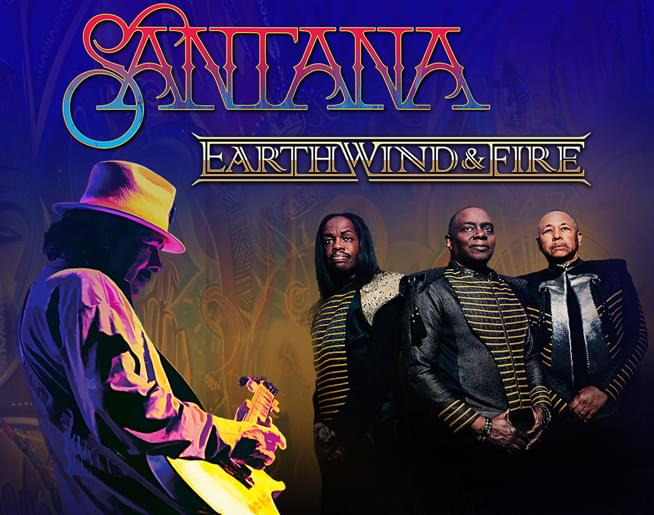 Santana and Earth, Wind, & Fire at Hersheypark Stadium on August 8th