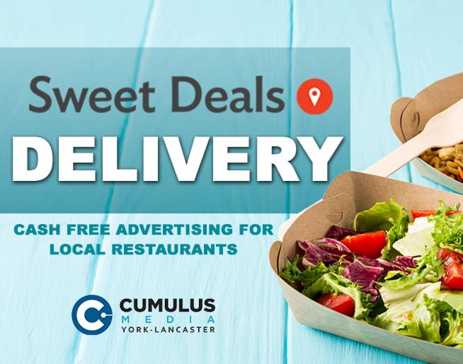 Sweet Deals Delivery: Promote your local restaurant