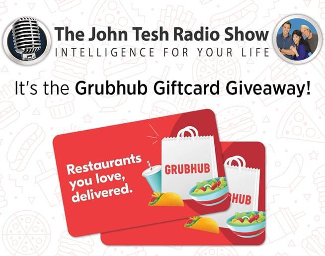 Enter to Win a GrubHub Gift Card from John Tesh!