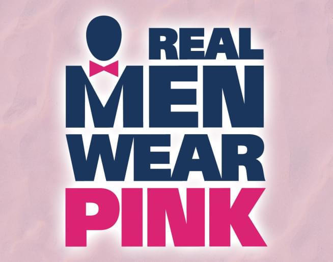 Real Men Wear Pink – Donate to the American Cancer Society