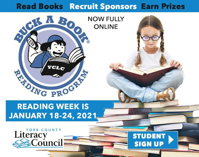 York County Literacy Council – Buck A Book Reading Program
