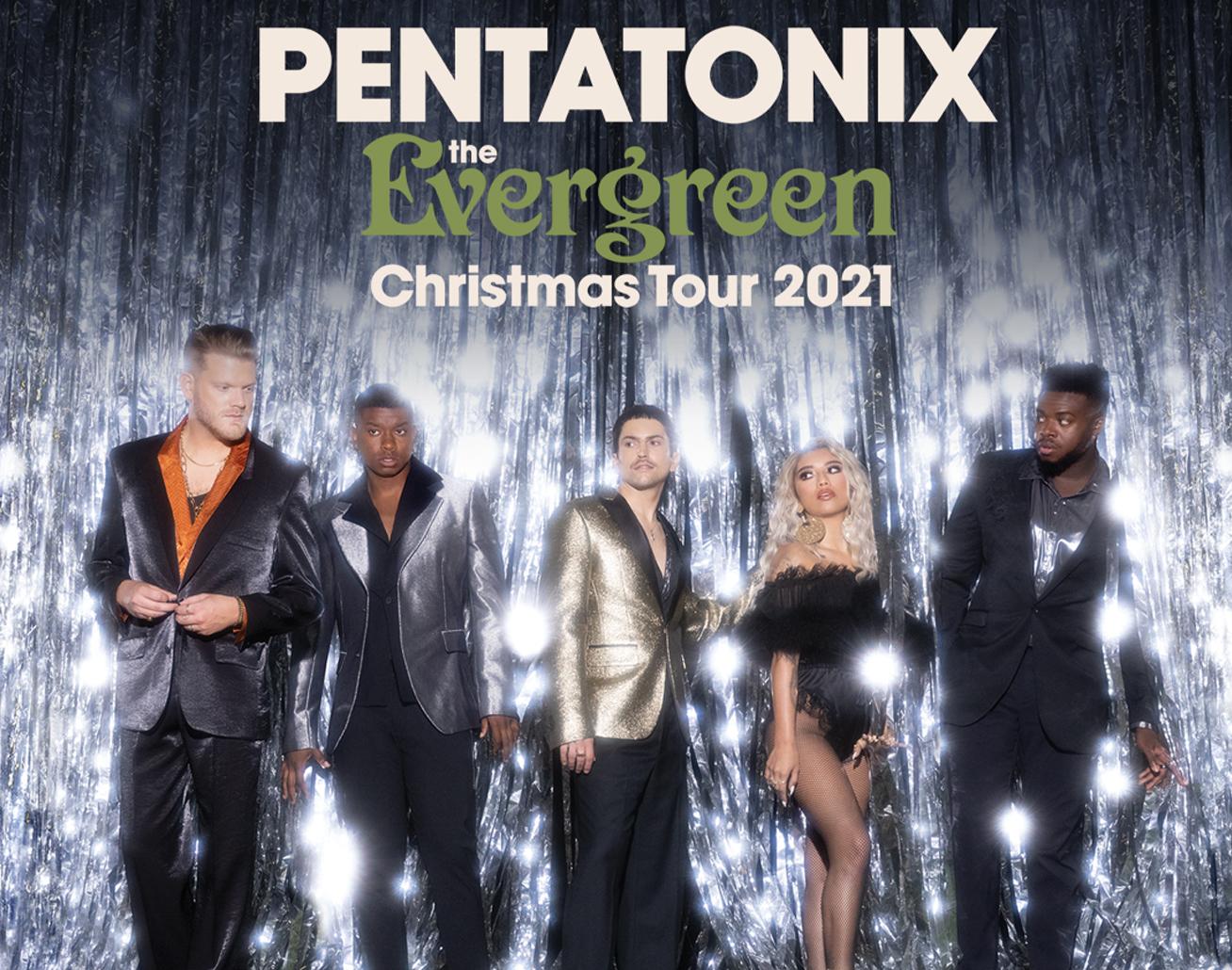 Pentatonix at Giant Center on December 9th