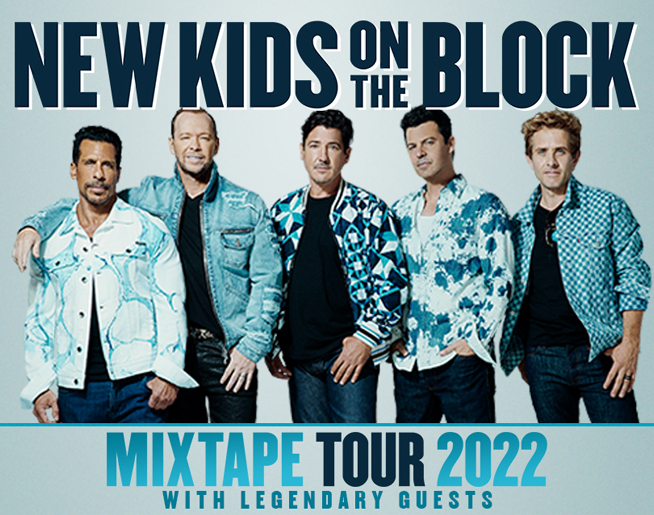 New Kids On The Block – Mixtape Tour 2022 at the Giant Center on July 21st