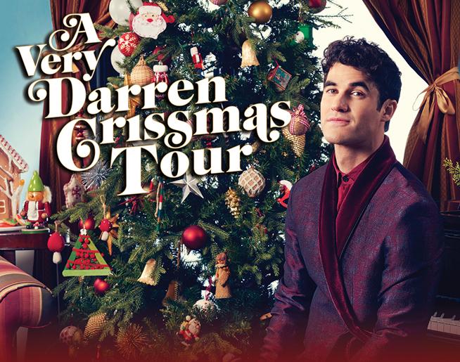 A Very Darren Crissmas Tour – December 22nd at the Hershey Theatre