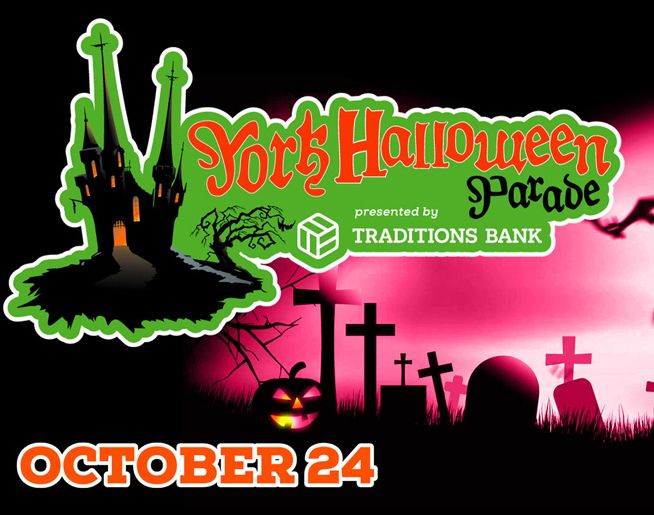 Join us this Sunday for the York Halloween Parade