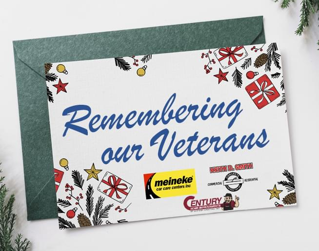 Help us Remember our Local Vet's spending Christmas in the Hospital