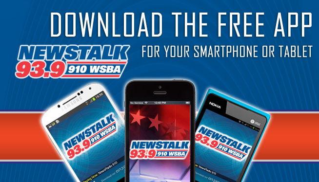 Download the FREE NewsTalk 93.9 & 910 WSBA App!