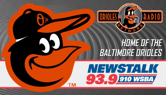 Baltimore Orioles Baseball on WSBA