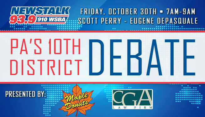 Perry – DePasquale Debate for the PA 10th District on WSBA