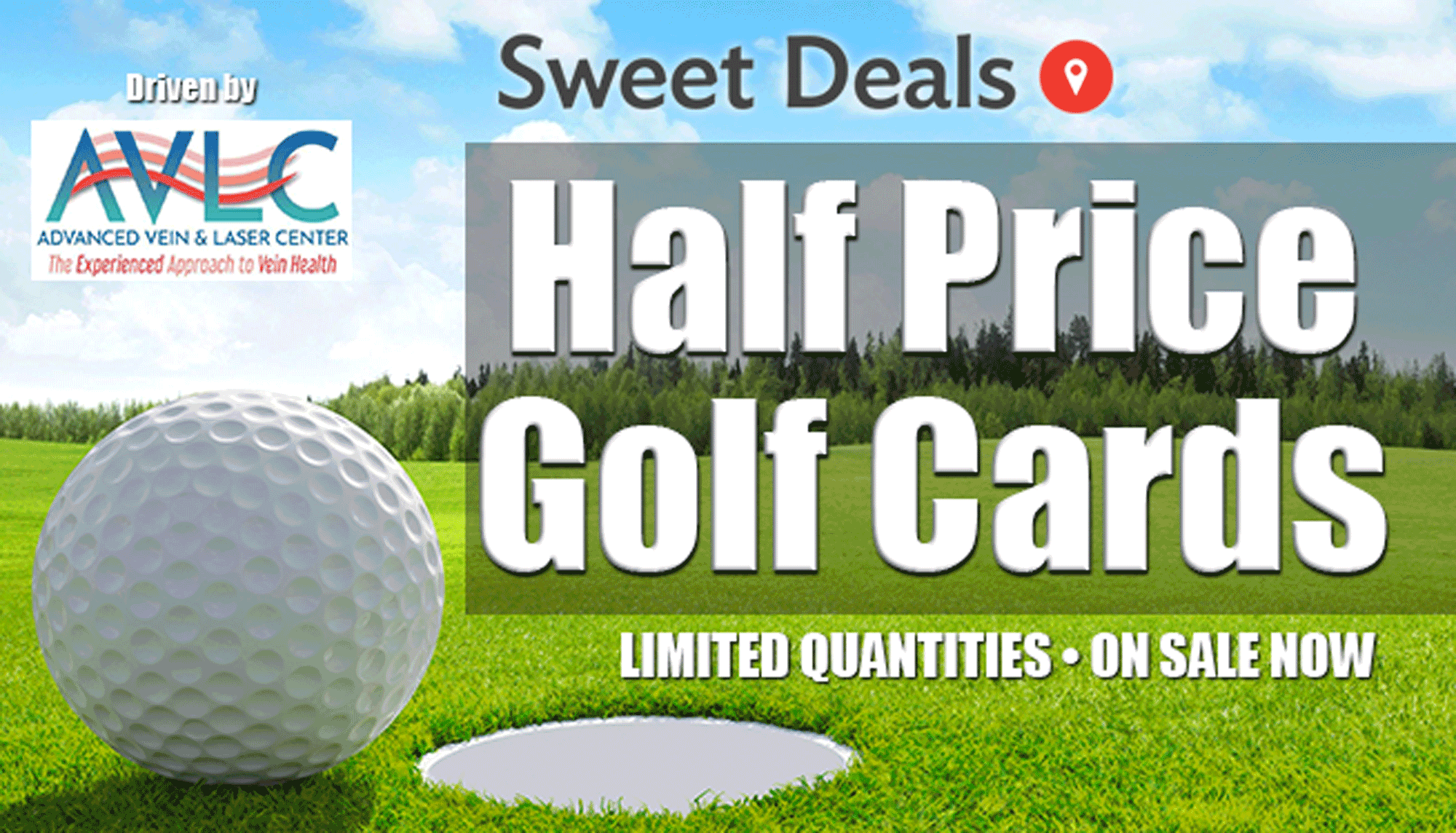 Half-Price Golf Cards: On Sale Now