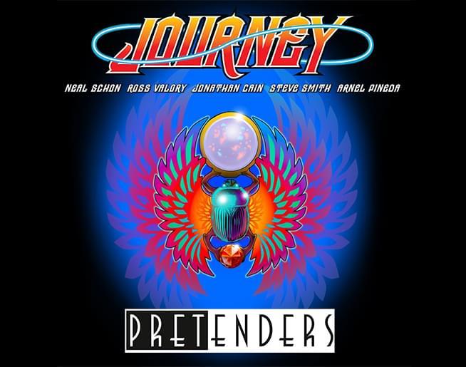 Journey with the Pretenders at Hersheypark Stadium
