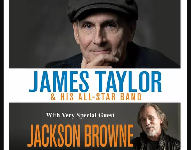 James Taylor with Jackson Browne at GIANT Center on June 18th