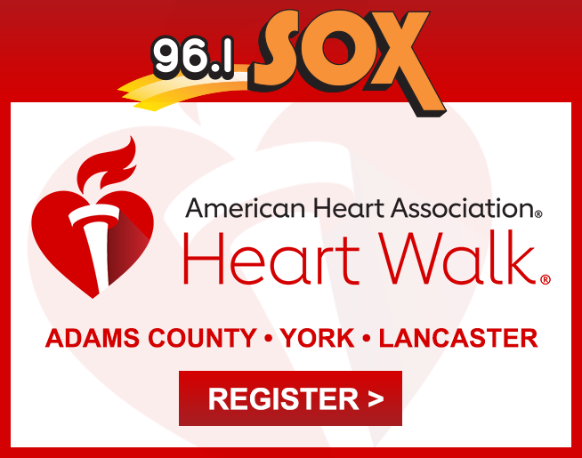 2021 Heart Walks in Central PA