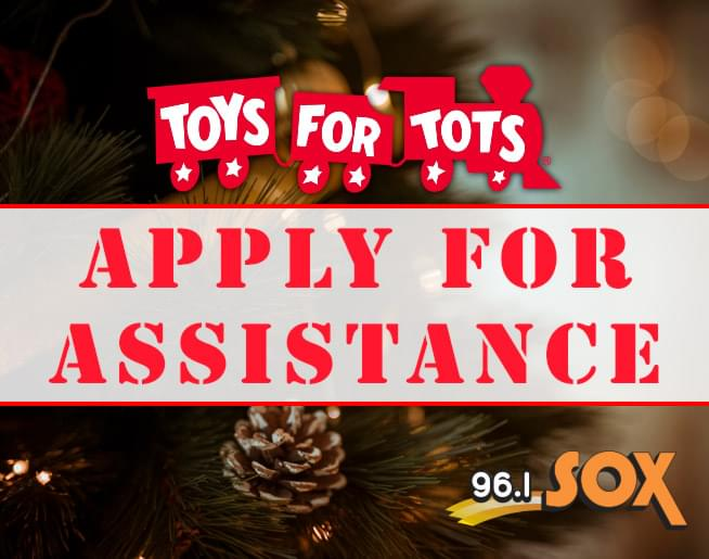 How to apply for Toys for Tots assistance this Christmas