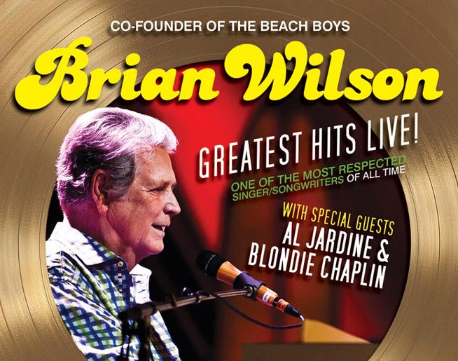 Brian Wilson at Santander Performing Arts Center on October 17th