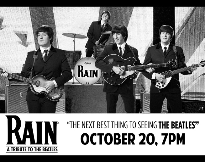 RAIN – A Tribute to The Beatles at American Music Theatre on October 20th