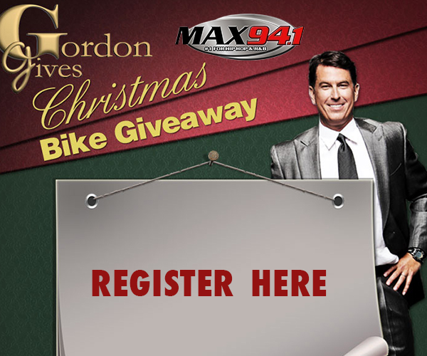 Gordon Gives a Bike