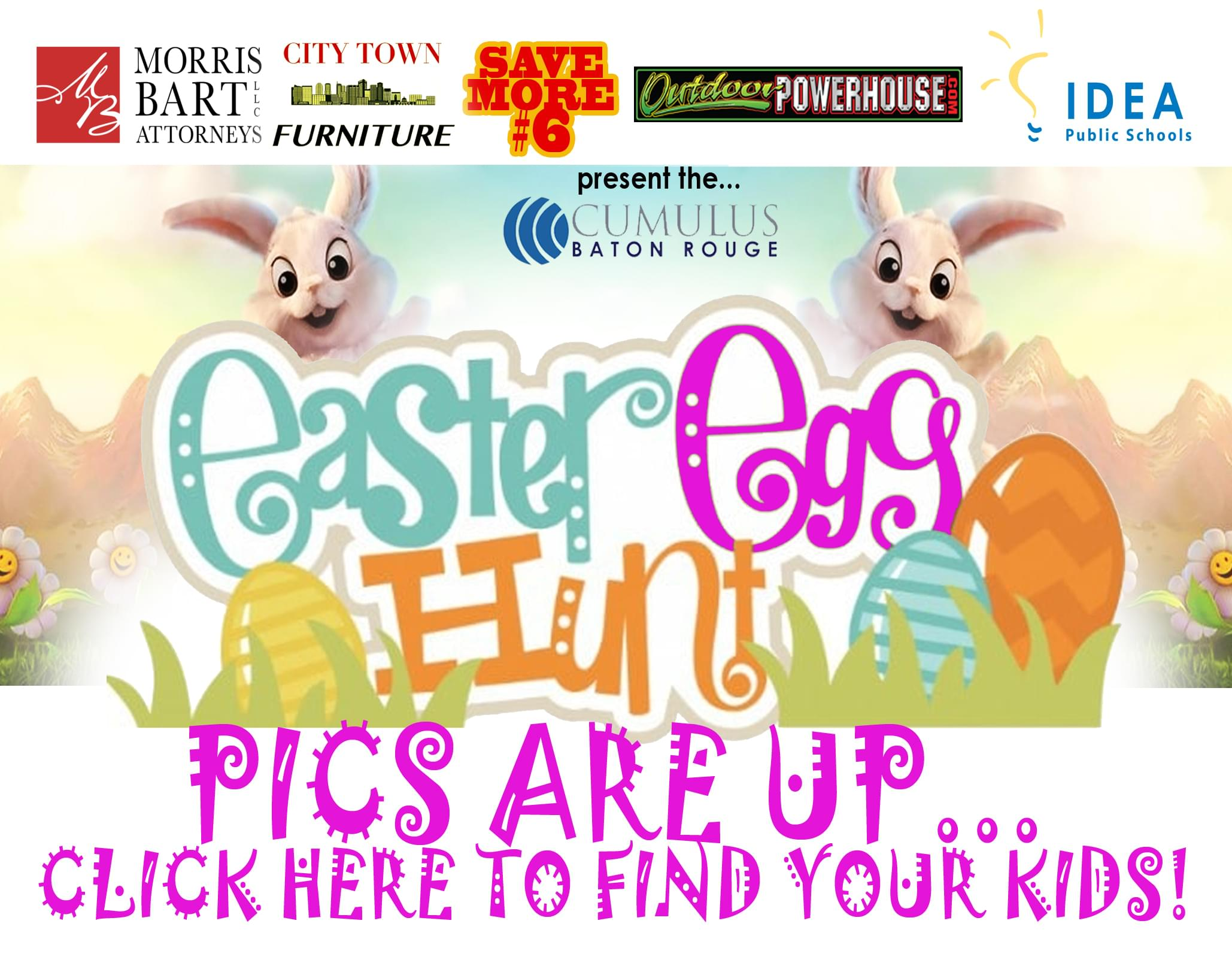 2018 Cumulus Easter Egg Hunt Photos